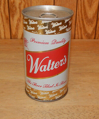 Walter's Premuim Quality Beer Can