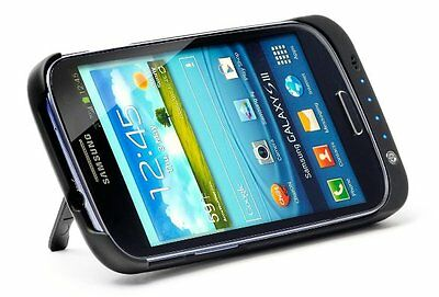 PowerCase Charing Case with Integrated Battery & Stand for Samsung Galaxy S3