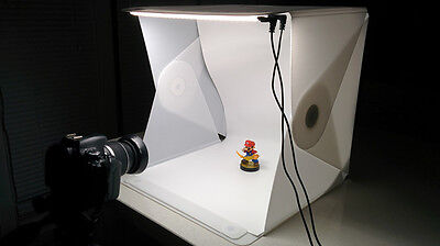 Foldio 2 New LARGER Edition Foldable Photography Booth, 15 inch lightbox tent