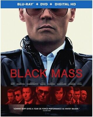 Black Mass [New Blu-ray] With DVD, 2 Pack, Ac-3/Dolby Digital, Digitally Maste