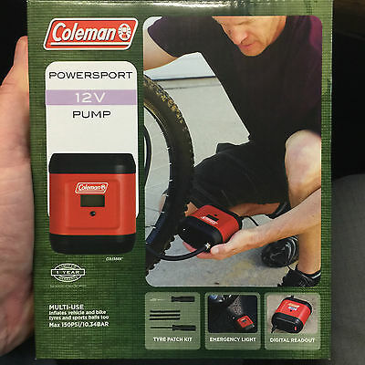 Coleman Quickpump Powersport 12V Air Pump