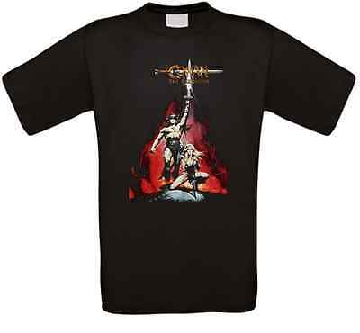 Conan the Barbarian Conan der Barbar Kult Movie T-Shirt alle Größen NEU
