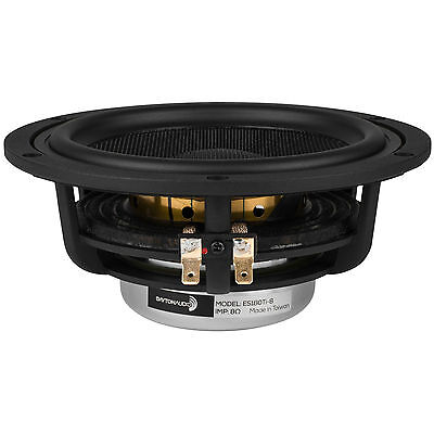 "Dayton Audio ES180Ti-8 7"" Esoteric Series Woofer 8 Ohm"