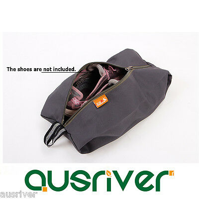 New Portable Outdoor Camping Hiking Shoe Storage Bag Pouch Travel Organiser Zip
