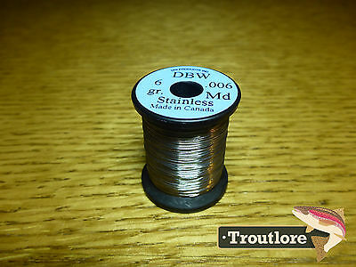 Uni .006 Dubbing Brush Wire Stainless Steel Dbw2 - New Fly Tying Materials