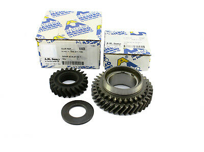 VW T4 02B gearbox OEM quality 5th Gear Pair Upgrade 0.62 Ratio 23T / 37T