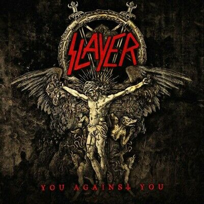SLAYER - YOU AGAINST YOU 7inch SINGLE BLACK VINYL LIMITED EDITION