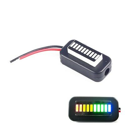 1PCS 3-30V Adjustable Voltmeter Multicolor Led Display Panel Lithium Battery CK