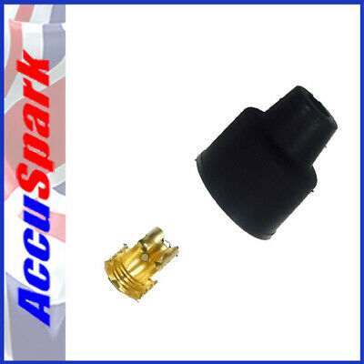 HT lead Distributor cap push fit boot and contact