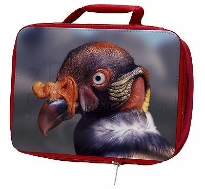 King Vulture Bird of Prey Insulated Red Lunch Box, AB-66LBR