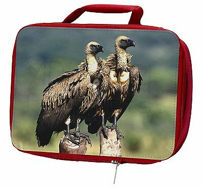 Vultures on Watch Insulated Red Lunch Box, AB-92LBR