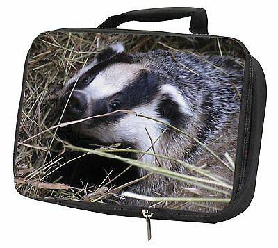 Badger in Straw Black Insulated Lunch Box, ABA-1LBB