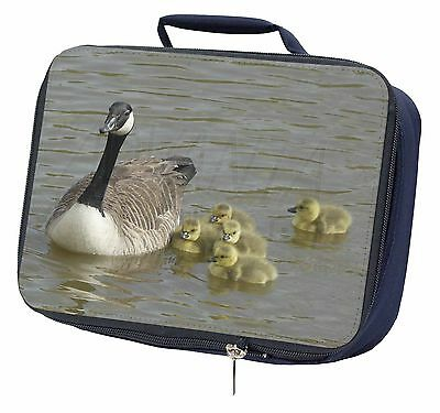 Canadian Geese and Goslings Navy Insulated Lunch Box, AB-G1LBN