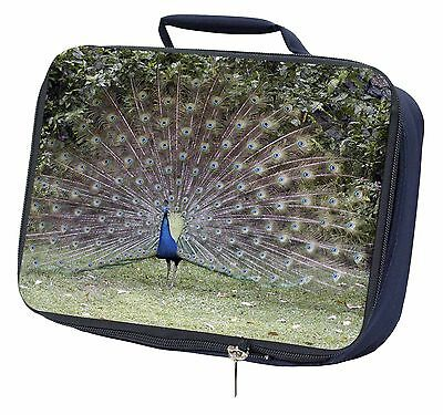 Colourful Peacock Navy Insulated Lunch Box, AB-PE76LBN