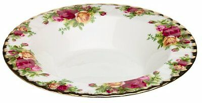 Royal Albert Old Country Roses Rim Soup Bowl New