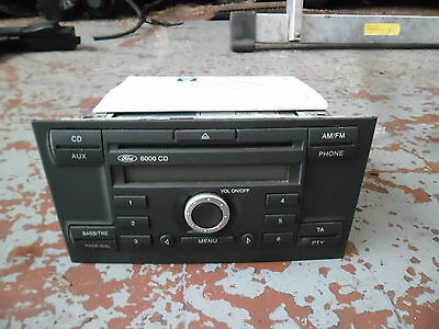 Ford Mondeo Estate 2004 Standard Ford 6000Cd Player