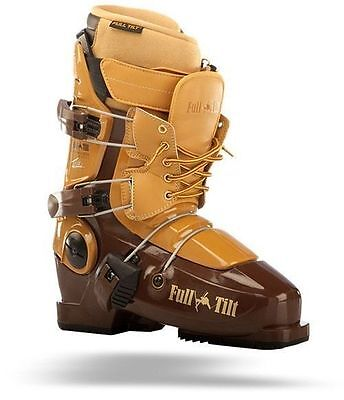 2013 Full Tilt Tom Wallisch Brown/Tan 26.0 Mens Ski Boots