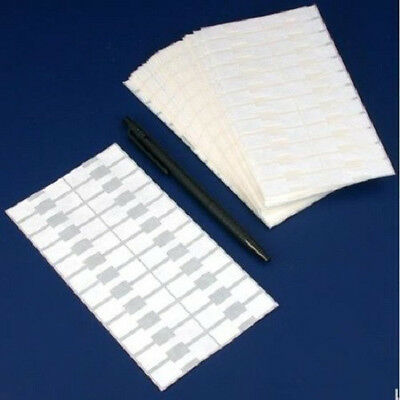 NEW 1000 Pcs White Price Tags Stickers  Jewelry Display  Dumbbell