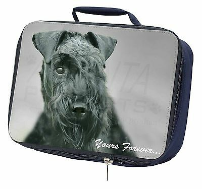 Kerry Blue Terrier 'Yours Forever' Navy Insulated Lunch Box, AD-KB1yLBN