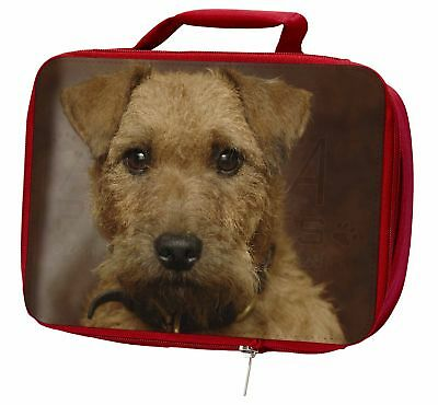 Lakeland Terrier Dog Insulated Red Lunch Box, AD-LT2LBR