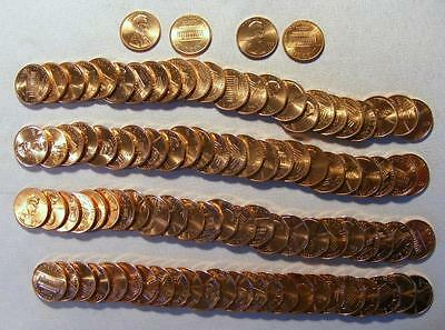 Lot Of 2 UNCIRCULATED Rolls 1993-P & 1993-D Lincoln Memorial Cents 100 Coins! #2