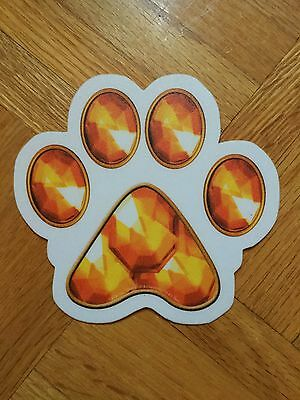 Garfield: A Tail of Two Kitties Official Promo Paw Sticker