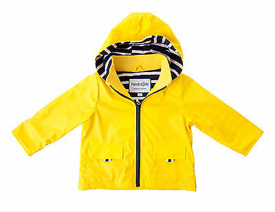 New Jimmy Kids 100% Waterproof Raincoat Boys/girls Yellow