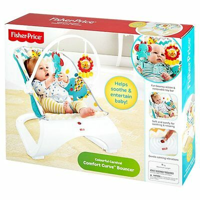 NEW Fisher-Price Curve Bouncer Chevron