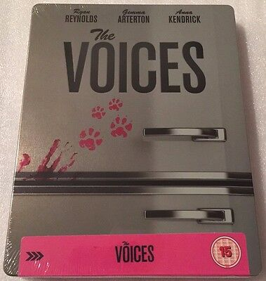 The Voices Steelbook - Limited Edition Blu-Ray **Region B**