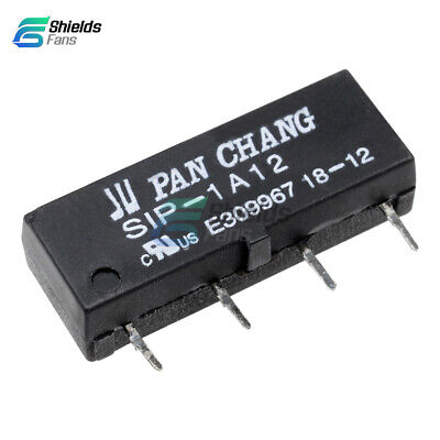 12V Relay SIP-1A12 Reed Switch Relay 4PIN for PAN CHANG Relay S