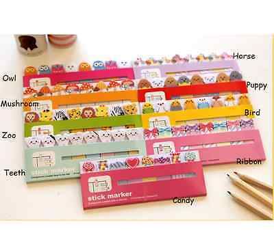 120pcs Lovely Cute Sticky Memo/ Sticker/ Post it Notes/ Pad
