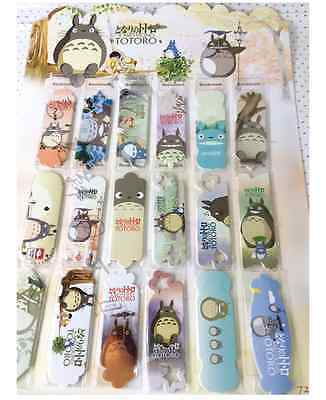 TOTORO Paper Bookmark x18 Different Size