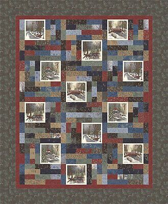 FABRIC Moda QUILT KIT ~ TOWN SQUARE ~ by Holly Taylor