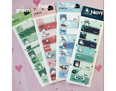 TOTORO 135pages Sticky Memo/ Sticker/ Post it Notes/ Pad