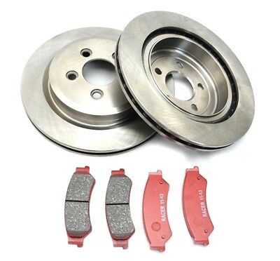 Ford Territory Rear Discs And Brake Pads 2004  On