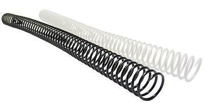 """Plastic Coil Binding 12"""" 4:1 Pitch 20MM CLEAR"""