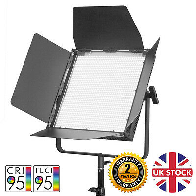 1500 Daylight Video Lights Large LED Panel Dimmable Film Interview Green Screen
