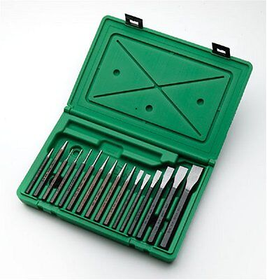 SK Hand Tools 6016 16 Piece Punch and Chisel Set