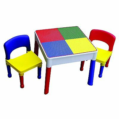 3 in 1 Multipurpose Activity Table & 2 Chairs
