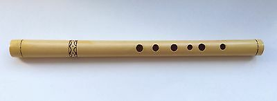 Handmade Professional Wooden Flute / Whistle in C