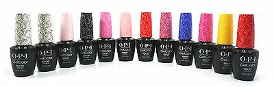 Opi Soak-Off Nail Gel Polish GelColor Hello Kitty Collection Set Of 12