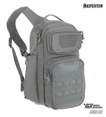 Maxpedition Advanced Gear Research (AGR) GRIDFLUX™ Sling Pack - Gray