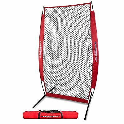 PowerNet I-Screen Pitching Protection Net for Softball Baseball w/FREE Carry Bag