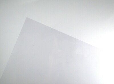 Clear A4 Acetate Sheets Transparent Clear OHP Craft Plastic Film (5 Sheets)