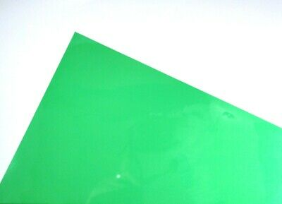 Green A4 Acetate Sheets Transparent Clear OHP Craft Plastic Film (1 Sheet)