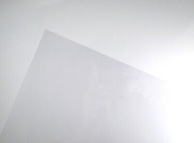 Clear A3 Acetate Sheets Transparent Clear OHP Craft Plastic Film (5 Sheets)
