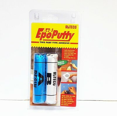 Alteco Epo Putty For Marine Frags, Corals Rock Wood Metal Fill Repair Bond Seal
