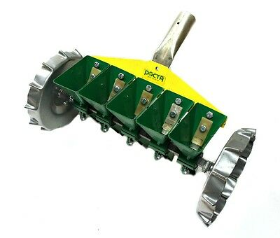 NEW Manual SMK-5 garden seeder for sowing small seeds in 5 rows