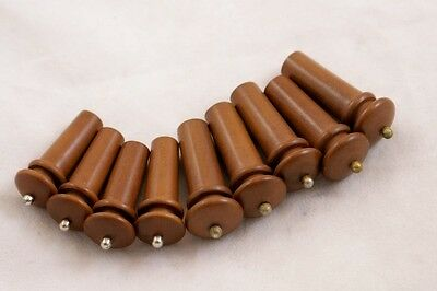 Mix of 9 x High Quality Indian Viola & Violin End Pins/ Boxwood / VEP2