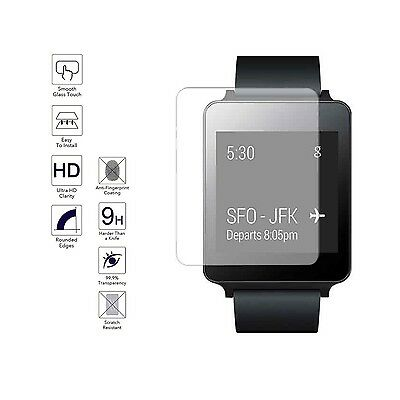 LG G Watch W100 Full Cover Tempered Glass Screen Protector Film Guard
